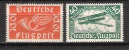 Reich Poste Aérienne N° 1 Et 2 Neufs ** - Poste Aérienne