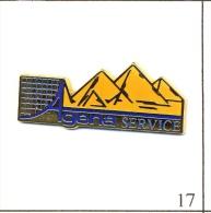 Pin´s - Voyages - Agena Services Agence Avec Pyramides. Est. Elyxir. Zamac. T085-17 - Cities