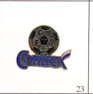 Pin´s - Boisson - Eau Contrex / Club De Foot. Non Estampillé. EGF. T085-23 - Boissons
