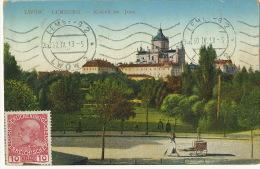 Lwow Lemberg Kosciol Sw. Jura P. Used 1913 - Ukraine