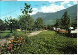 Carte Postale Italie  Sarre  Camping  M. Bianco Prop.   Trés Beau Plan - Italien