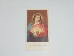 SANTINI/SANTINO - COR JESUS SACRATISSIMUM - PREGHIERA - Santini