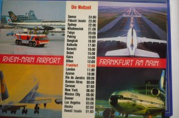 AEROPORT / FLUGHAFEN  / AIRPORT     FRANKFURT - Aerodrome