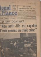 JOURNAL PRESSE  LE MERIDIONAL LA FRANCE 21 NOVEMBRE 1954 - Journaux - Quotidiens