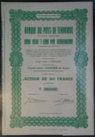 Banque Du Pays De Termonde - Bank Voor 't Land Van Dendermonde - Azioni & Titoli