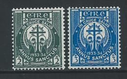 Ierland     Yvert        62/63        **      Postfris   /   MNH   /    Postfrisch    /   Neuf ** - Nuovi