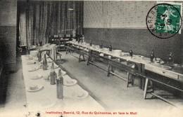 CPA  -  ANGERS (49) .  -  Institution  Besnié, 12 Rue Du Quinconce, En Face Le Mail. - Angers