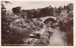 PC The Brig O'Doon And Gardens, Alloway, Ayre - 1956 (1898) - Ayrshire