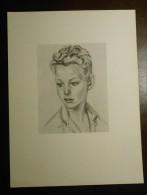 Portrait D´enfant. Dessiné Par Odette Kirschlfger Pour Les Laboratoires ANA à Paris. - Other