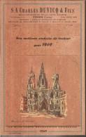 Bouchonneries De La Cote Basque Charles DUVICQ  TOSSE ( Landes) De 1969 - Calendriers