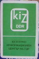 1981 - Cultural Information Center Of The DDR - Formato Piccolo : 1971-80