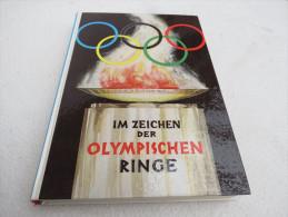 """Ben Harder """"Im Zeichen Der Olympischen Ringe"""" Ein Nachschlagewerk Für Jeden Sportsfreund - Livres Pour Enfants"""