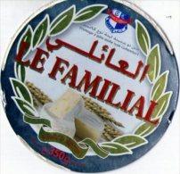 """Étiquette De Fromage  Camembert """" Le Familial"""" - Formaggio"""