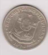 Münze Pilipinas, 1 Piso, 1974, Vzgl.,ansehen - Philippinen