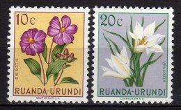 RUNADA URUNDI - 1953 YT 177+179 * - Ruanda