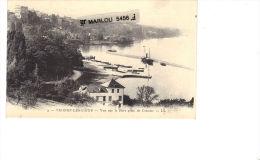 3. THONON LES BAINS - Vue Sur Le Port Prise De Concise - Thonon-les-Bains