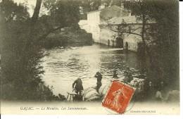 CPA  GAJAC, Le Moulin, Les Savonneuses  9418 - Otros Municipios