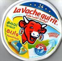 """Étiquette De Boite De Fromage  """" La Vache Qui Rit""""-24 Portions - Fromage"""