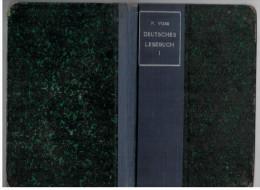 German  Deutsces  Book 1919  Deutsches Lesebuch - Bücher, Zeitschriften, Comics