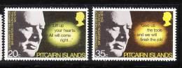 Pitcairn Islands 1974 Sir Winston Churchill MNH - Pitcairninsel