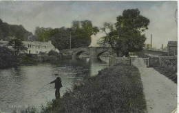 CUMBRIA - PENRITH - EAMONT BRIDGE - FISHING Cu838 - Cumberland/ Westmorland