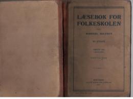 Norway Norge Book 1912 LÆSEBOK FOR FOLKESKOLEN - Scandinavian Languages