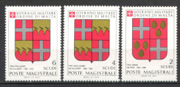 Smom 1983 Sass. 218/20 MNH/** VF - Sovrano Militare Ordine Di Malta