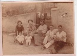 Photoancienne Famille GELPE à Neuville Dans L´ Aube - Foto
