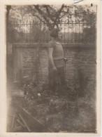 Photoancienne Mme GELPE à Neuville Dans L´ Aube En 1924 - Other