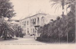 CPA Alger - Palais D'Étè Du Gouverneur à Mustapha Supérieur (1952) - Algerien