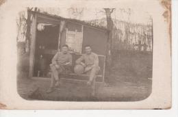 Photo Ancienne  Format Carte POSTALE - GEPE René  Au Campement Pendant La Guerre 14 - 18 - Foto