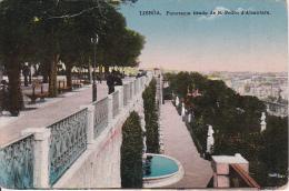 PC Lisboa - Panorama Tirado De S. Pedro D'Alcantara (1957) - Lisboa