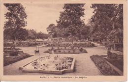 CPA Saigon - Jardin Botanique - La Pergola (1975) - Vietnam