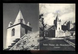 Documentation Touristique De Syndicat D'initiative SAINT ST NIZIER DU MOUCHEROTTE Isère Vercors - Advertising