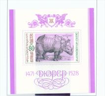 BULGARIA  -  1979  Durer  Minature Sheet  Unmounted Mint - Bulgaria