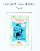 BULGARIA  -  1979  Humour And Satire  Mounted Mint - Bulgaria