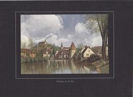 Vaihingen An Der Enz, Foto-Tafelbild 24 (19 X 13 Cm), G. Ströhmfeld: Das Schwabenland In Farbenphotograpie, Um 1914 - Orte