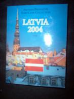 LETTONIA 2004 FOLDER EUROPROVA FDC - Lettonia