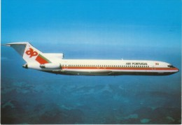 Air Portugal Airlines, Boeing 727 Commericial Jet Plane C1970s Vintage Postcard - 1946-....: Moderne