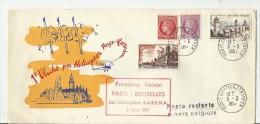 == FR CV 1957  Helikopterflug Paris Rotterdam - France