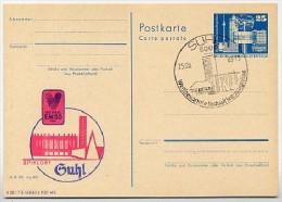 DDR P80-10a-83 C42 Postkarte PRIVATER ZUDRUCK Volleyball-EM Suhl Sost. 1983 - [6] République Démocratique