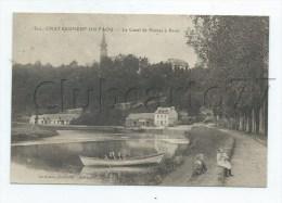 Chateauneuf-du-Faou (29) : Barque En MP Sur Le Canal De Nantes à Brest En 1916 (animé)  PF. - Châteauneuf-du-Faou