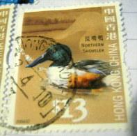 Hong Kong 2006 Northern Shoveler Bird $13 - Used - 1997-... Sonderverwaltungszone Der China