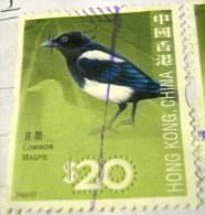 Hong Kong 2006 Bird Common Magpie $20 - Used - 1997-... Sonderverwaltungszone Der China