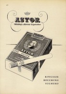 # ASTOR CIGARETTES Deutschland 1950s Advert Pubblicità Publicitè Reklame Sigarette Cigarrillos Zigaretten Tabak - Sonstige