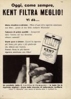 # KENT CIGARETTES U.S.A. 1950s Advert Pubblicità Publicitè Reklame Sigarette Cigarrillos Zigaretten Tabak - Around Cigarettes