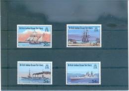 BARCOS BRITSH INDIAN OCEAN TERRITORY 115/118 (4V) (1991) MICHEL - Territorio Antártico Británico  (BAT)