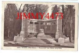CPA N° 24858 - VESOUL 70 Haute Saône - Monument Aux Morts De La Guerre 1914 - 1918 -  Edit. C. L. B. à Besançon - Monumentos A Los Caídos