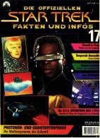 Zeitschrift  Die Offiziellen STAR TREK Fakten Und Infos -  Heft 17 / 1998  -  Die Waffensysteme Der Zukunft - Film & TV