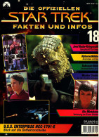 Zeitschrift  Die Offiziellen STAR TREK Fakten Und Infos -  Heft 18 / 1998  -  U.S.S. Enterprise NCC-1701-E - Film & TV